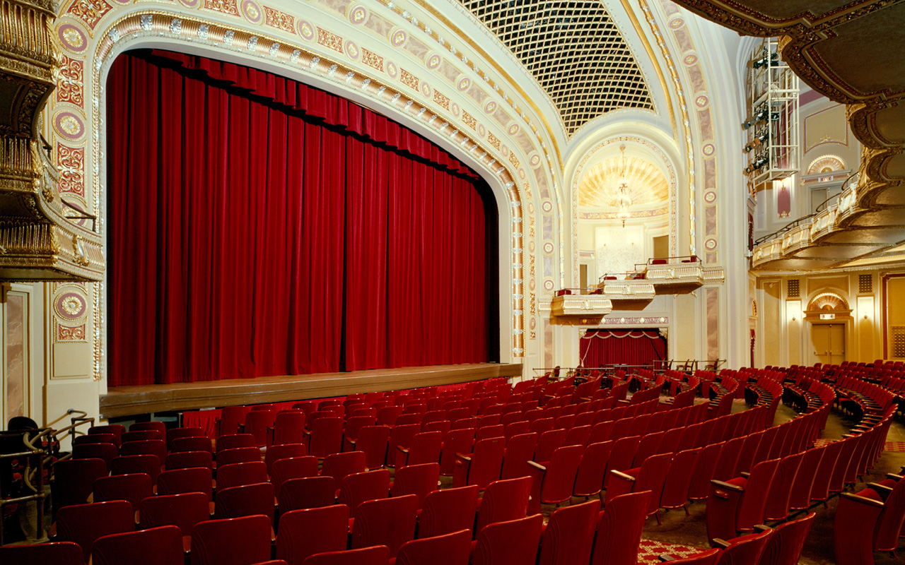 The interior of the Tivoli Theatre