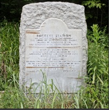 Buckeye Station Monument
