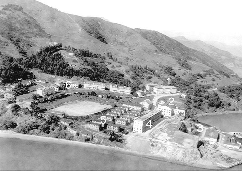 Fort McDowell, East Garrison as it looked in 1926