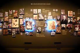 This picture represents the Voices of the City exhibit.  This picture features past influential people and events that have taken place to shape the way the city and the nation operates today.