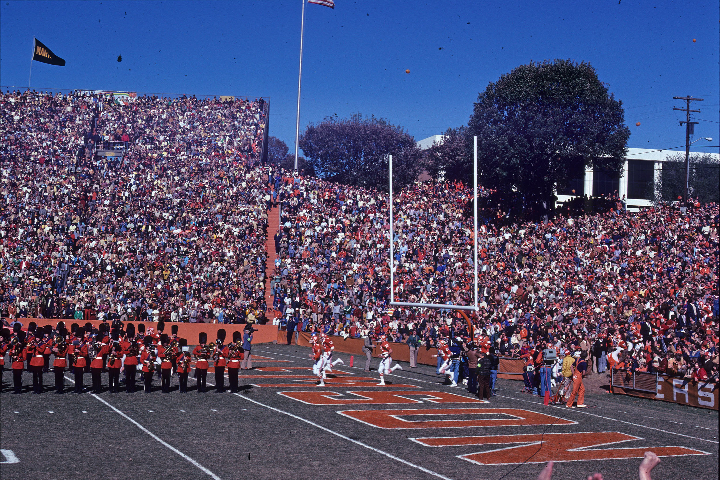 Clemson vs. Notre Dame circa 1977