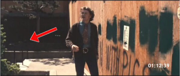 Scene from Dirty Harry filmed by Portsmouth Square Garage. Scorpio played by Andrew Robinson is leaving the garage and entering the Square