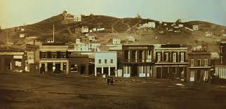 Portsmouth Square in 1851
