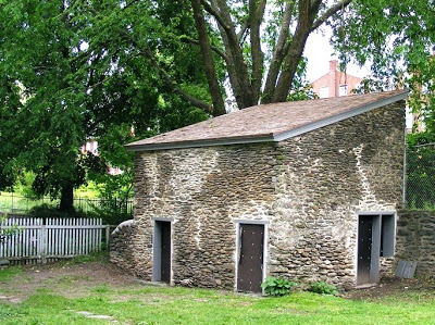 Outbuilding at John Johnson house in Philadelphia