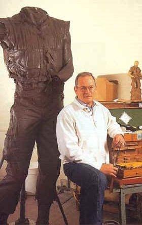 P. Joseph Mullins designer of memorial