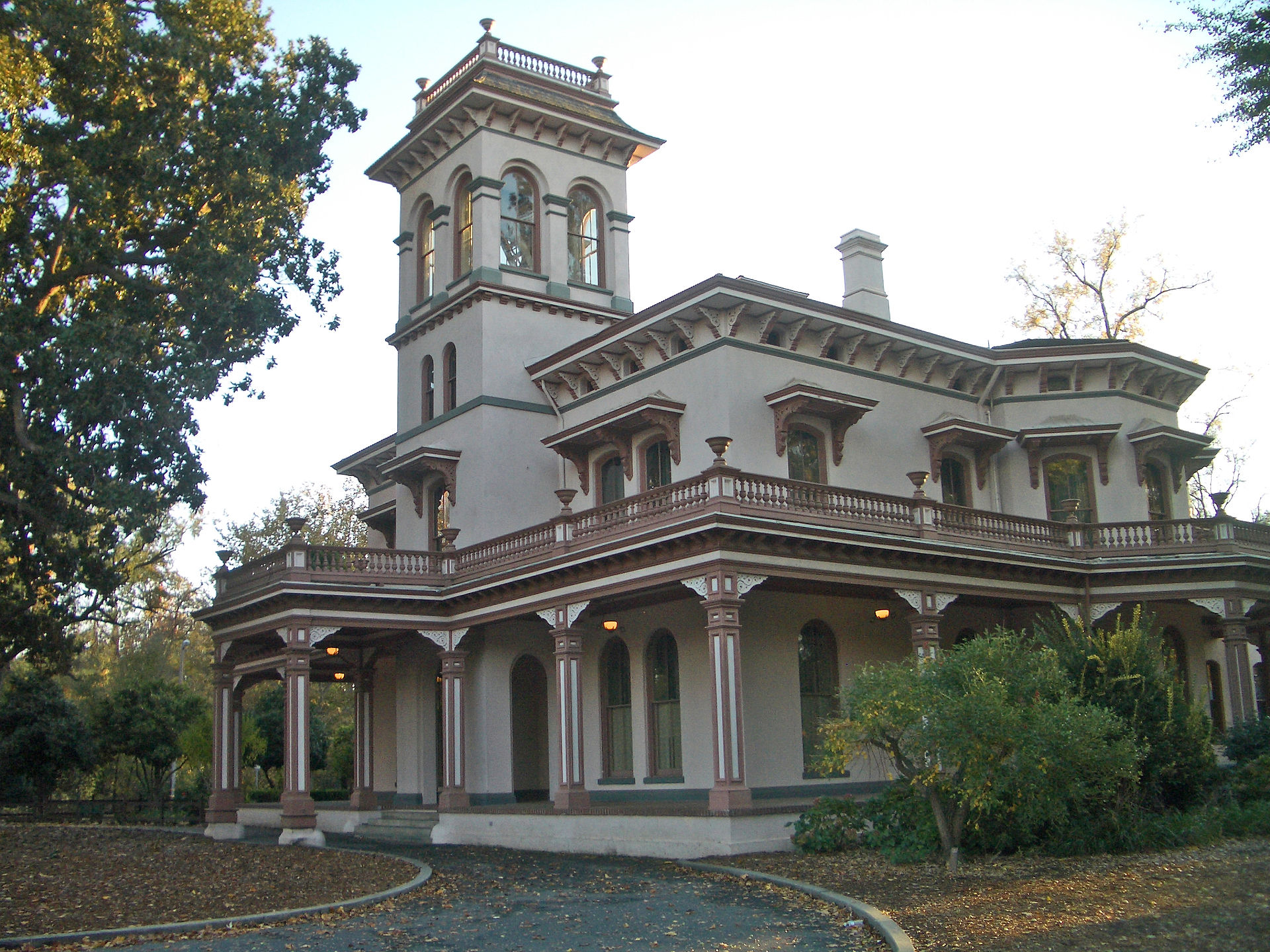 The Bidwell Mansion