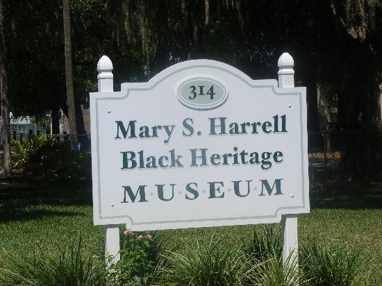 The Mary S. Harrell Black Heritage Sign