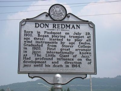 Don Redman Historical Marker