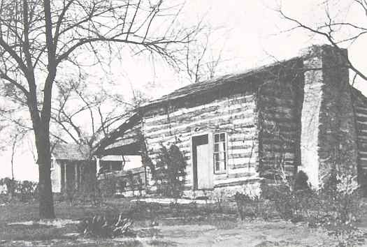 Photo of the original cabin