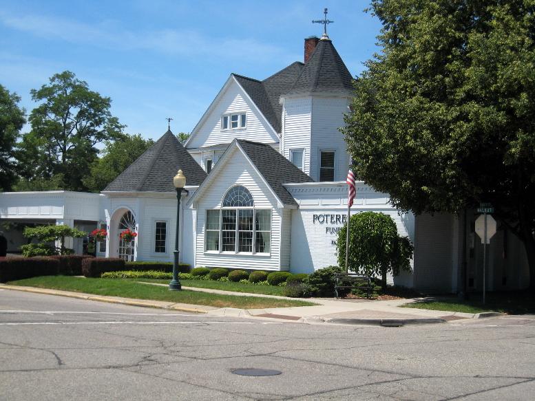 George M. Flumerfelt House, east elevation, 2020