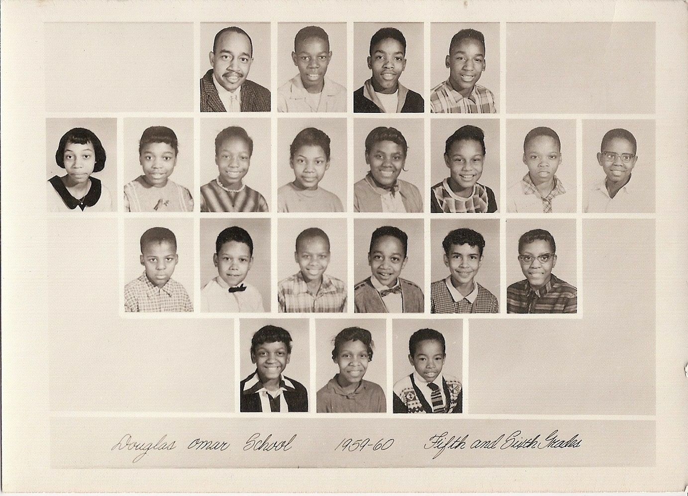 Omar Douglass School Year book 1959-1960.
