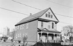 An early picture of the home of Reverend Nash