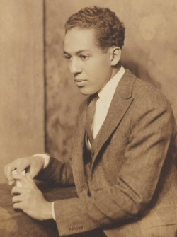 A young picture of Langston Hughes