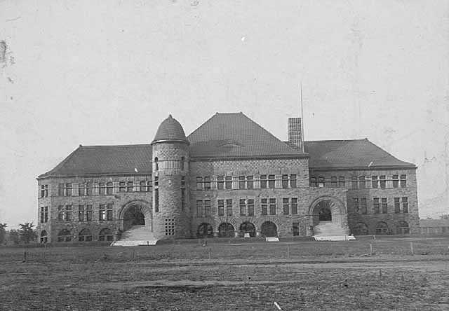 Pillsbury Hall in 1900, about a decade after its construction