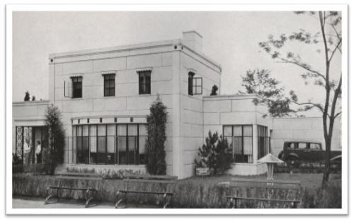 Original Chicago World's Fair demo home circa 1933