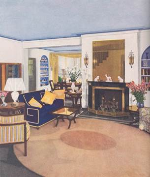 Living Room: sample of interiors sponsored by Good Housekeeping Magazine
