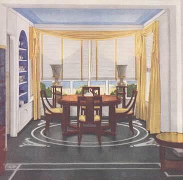 Dining Room: Good Housekeeping Magazine interiors