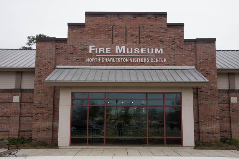Charleston Fire Museum Exterior