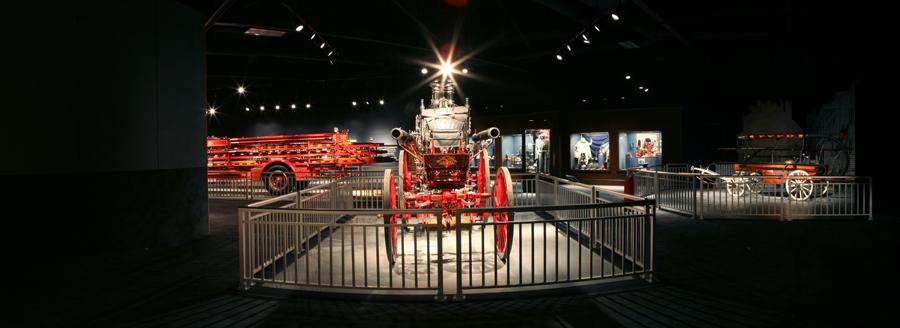 Charleston Fire Museum Interior