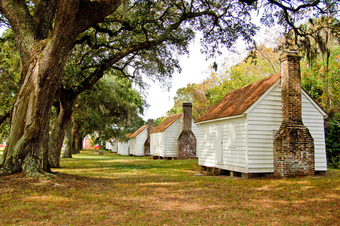 McLeod Plantation Slave Quarters