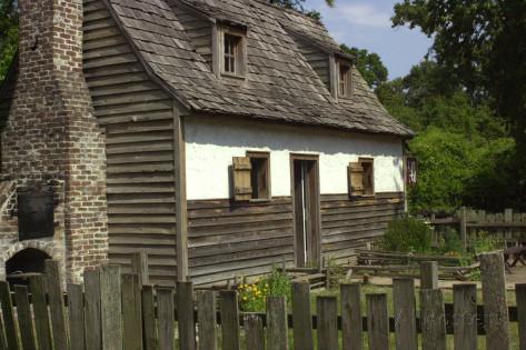 Charles Towne Landing Settlement Exhibit