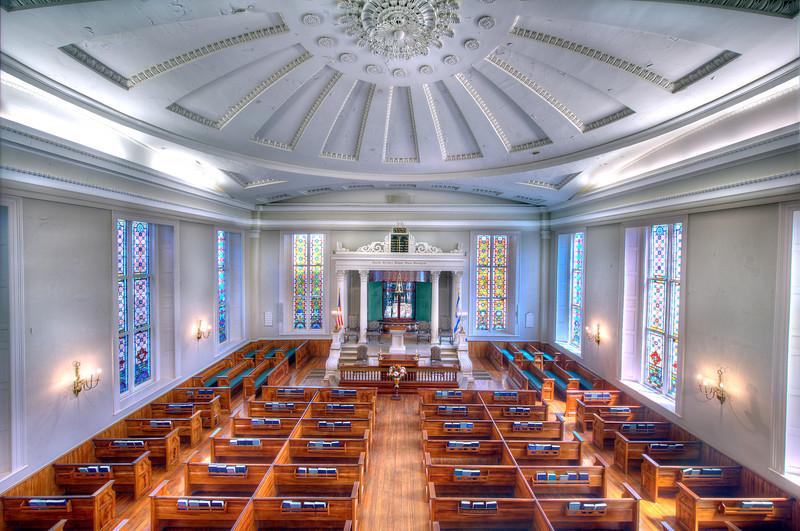 Kahal Kadosh Beth Elohim Synagogue Interior