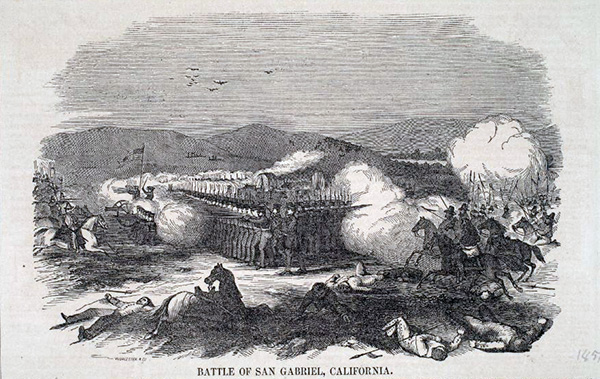 1847-48 Harpers Illustrated newspaper drawing of the battle