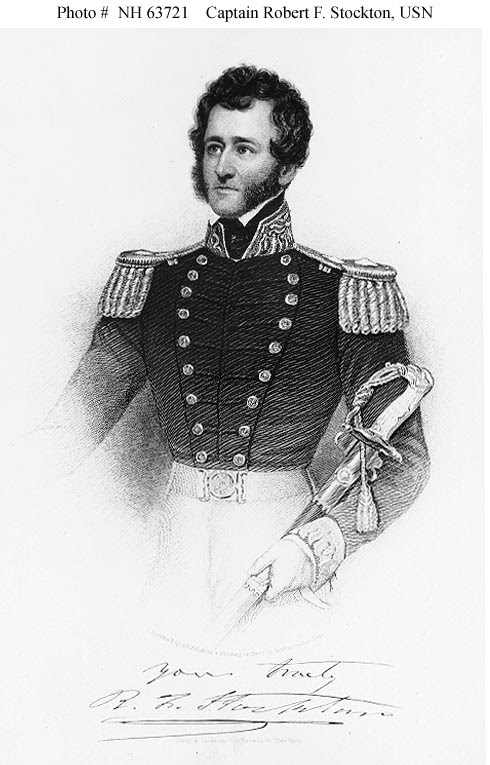 Robert Stockton during Mexican War