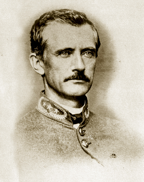 John Tyler Morgan in his uniform.