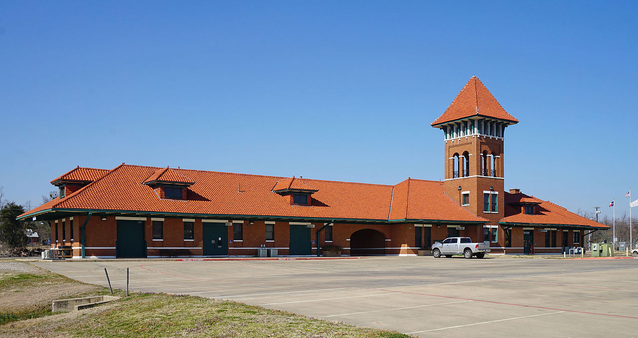 The Valley of the Caddo Museum & Cultural Center showcase is housed in the historic Santa Fe-Frisco Depot, which was built 1912.