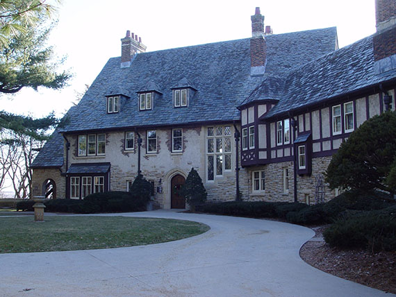 The Plummer House was built in 1924 and was the home of Dr. Henry S. Plummer, one of the founders of the Mayo Clinic.