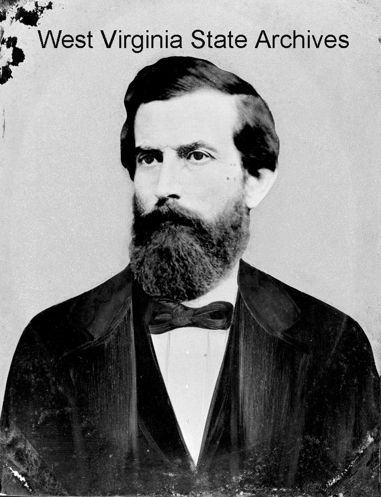 A civilian portrait of George Imboden. Born in 1836, the future Confederate colonel was only 25 when the Civil War began. Fayette County Historical Society Collection, West Virginia State Archives.