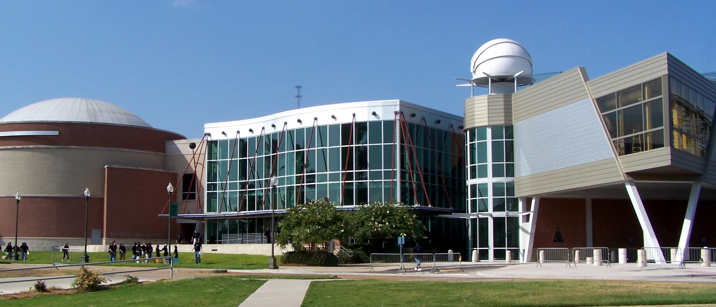 Exterior view of Sci-Port: Louisiana's Science Center