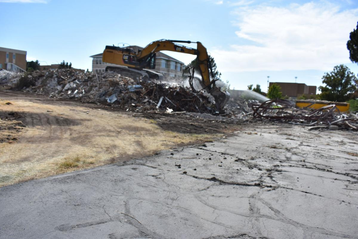 Demolition of the Kirkham, 2019