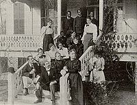 The school staff around 1900