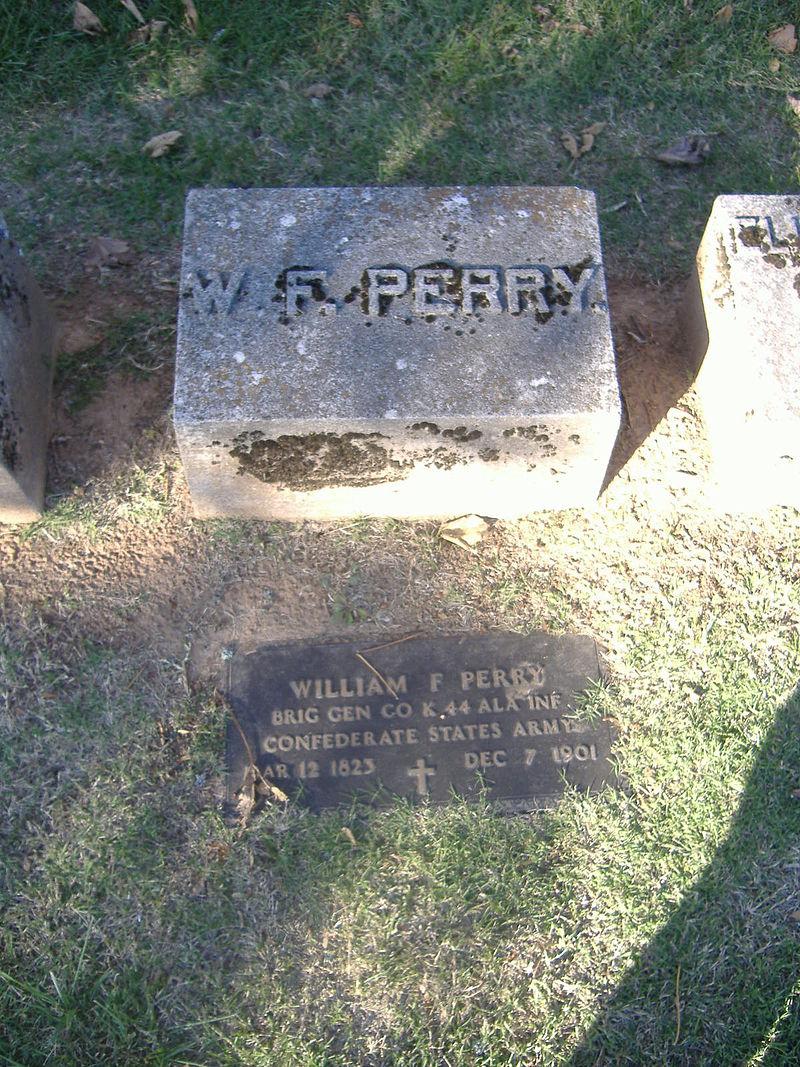 Gravesite of William Perry