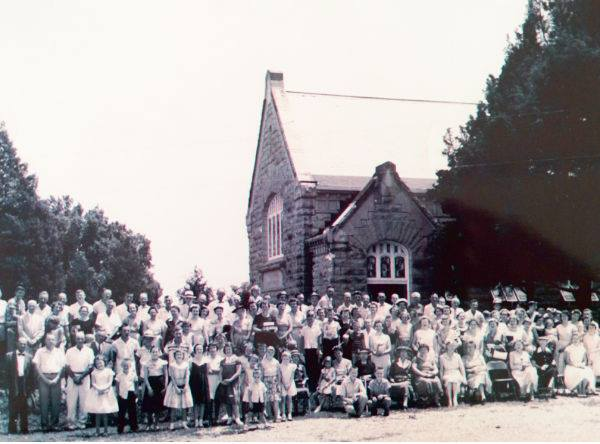 Church and congregation in mid-1960s