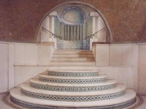 Mosaic Center Hall at Ayer Mansion