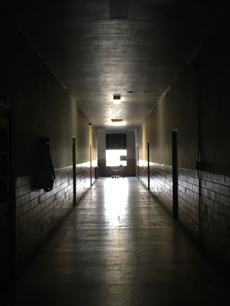 Chesapeake Community Center 2nd Floor Main Hallway