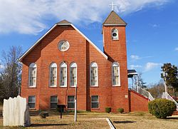 Current Image of the Butler Chapel AME Zion Church.