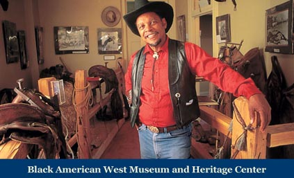 Another room in the Black American West Museum & Heritage Center