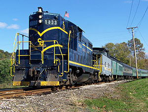 Founded in 1972, the Hocking Valley Scenic Railway is a non-profit, volunteer operated organization that is dedicated to educating and entertaining the general public. Visitors have the opportunity to take a ride on vintage trains.