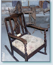Interior-Monroe Pioneer Cabin