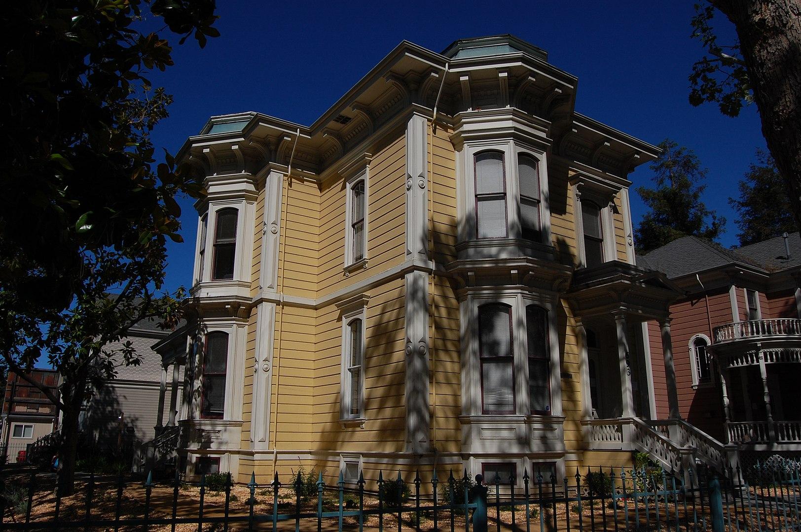 Ross House, built in 1878.