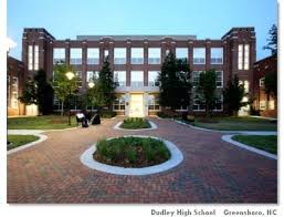 James B. Dudley High School today