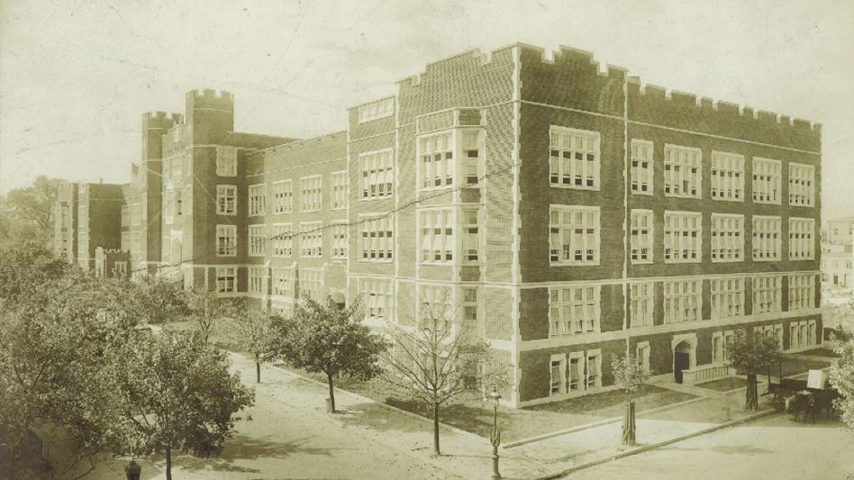The old Dunbar High School