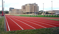Dunbar High School and field