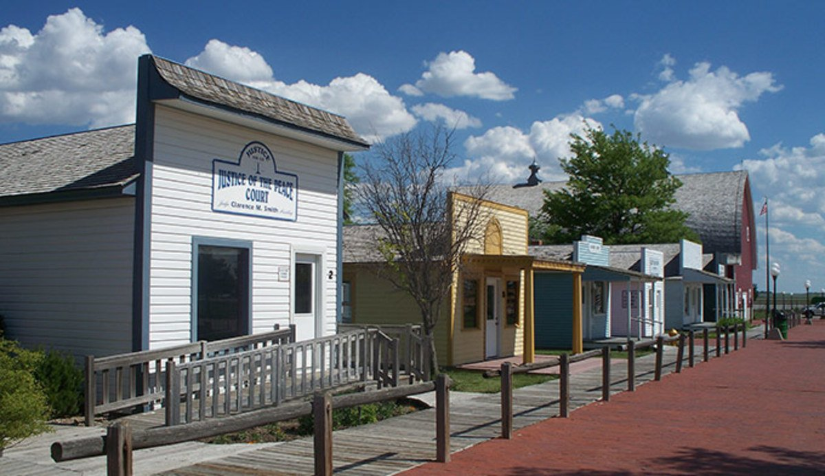 "The museum complex includes many authentic historic buildings (and some others that are more recent) that create an ""Old West"" town experience."