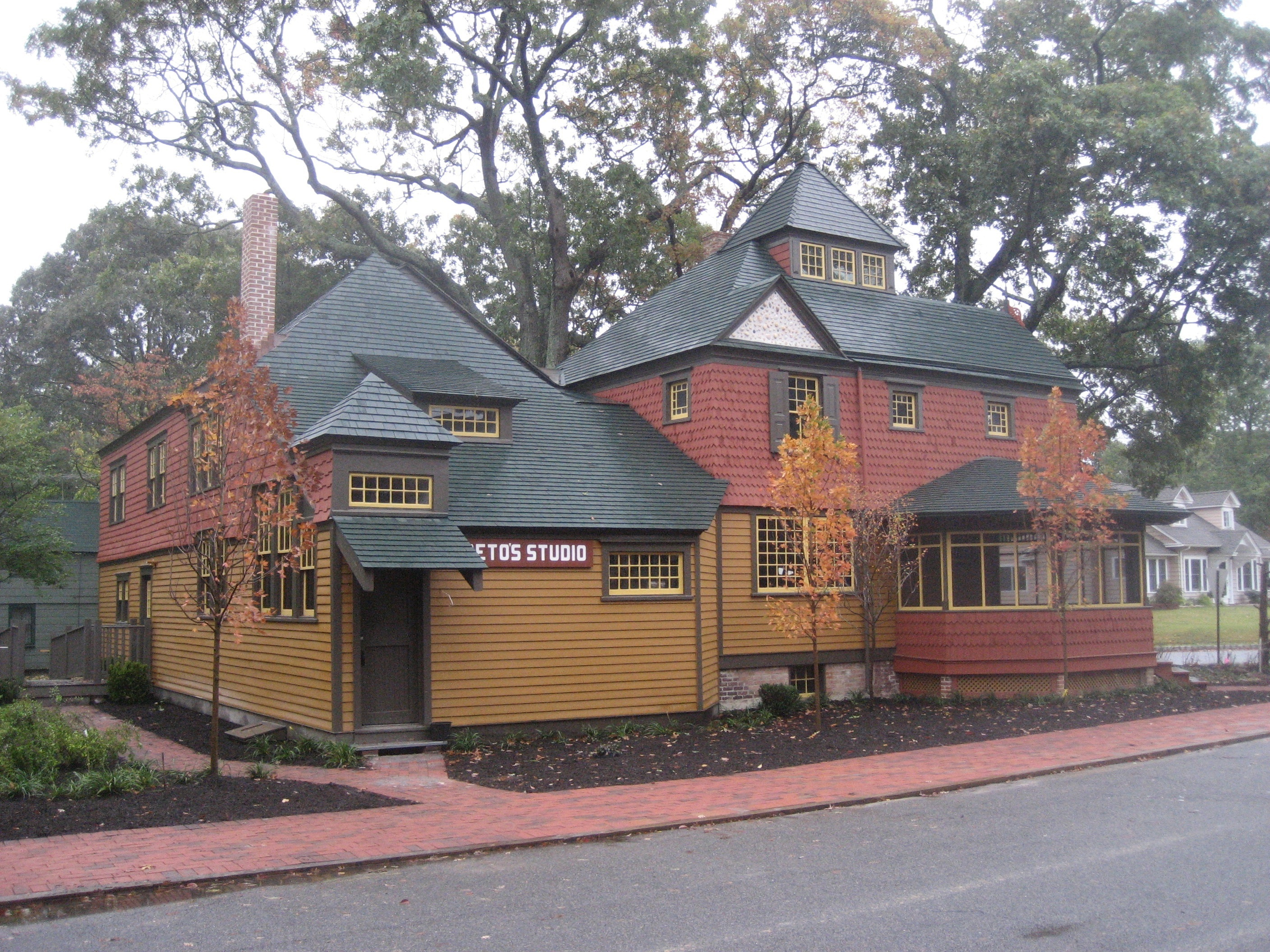 The John F. Peto Studio Museum, Image courtesy of the Ocean County Cultural & Heritage Commission Archives.