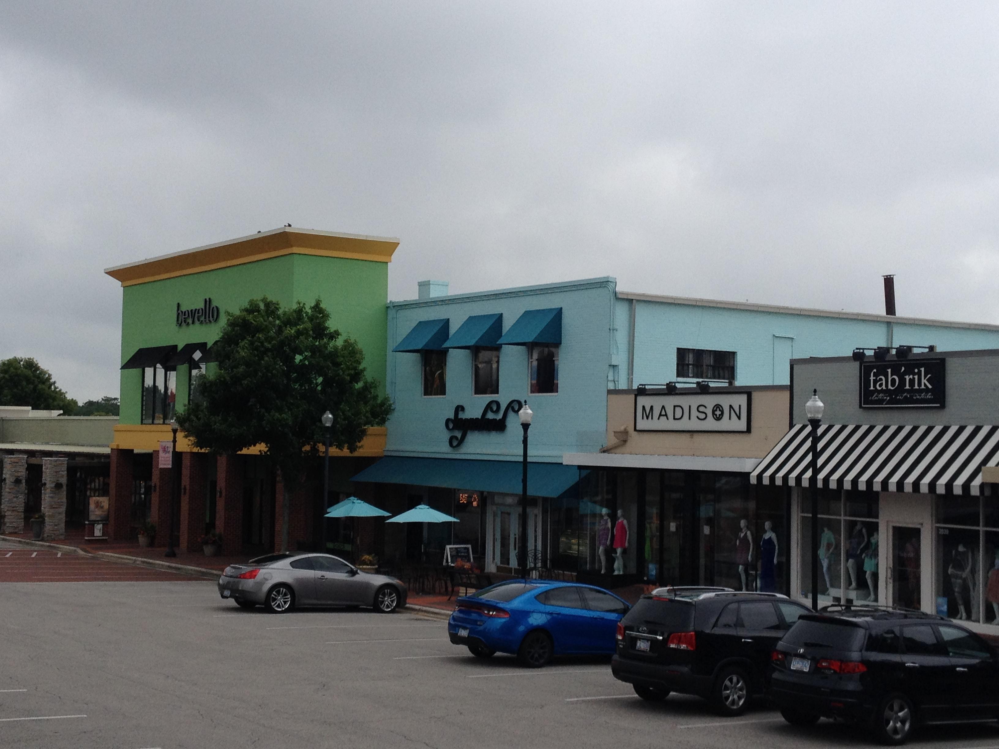 Cameron Village Shopping Center, 2015.